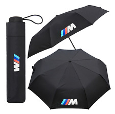 BMW Sport Umbrella Car Black Folding Large Quality Brolly Gift