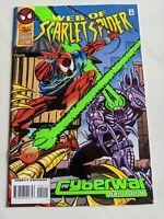 Web of Scarlet Spider DeFalco Dezago Volume 1 #2 Marvel Comics November 1995 NM
