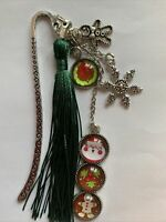 Christmas Metal Bookmark, Gift, Stocking Filler #92