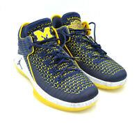 Nike Air Jordan XXXII 32 Low Michigan Navy U of M Shoes [AA1256-405] Multi Size