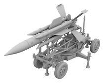 1/72 Thunderbird Missile & Trailer [3D Printed Model]