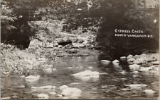 Cypress Creek North Vancouver BC UNUSED Real Photo Postcard E55