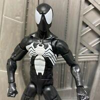 """Marvel Legends Sandman BAF Series Black Suit Spider-man 6"""" Inch Action Figure 2"""