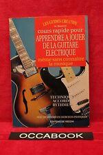 Cours rapide pour apprendre à jouer de la guitare électrique - Rare