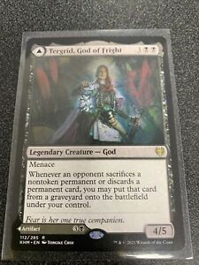 Magic the Gathering MTG Tergrid, God of Fright / Tergrid's Lantern