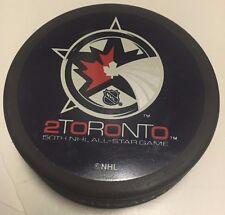 2000 NHL All-Star Game Souvenir Hockey Puck Toronto Maple Leafs