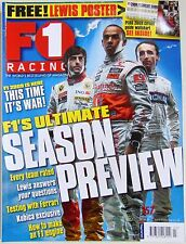 F1 RACING Magazine - 2009 SEASON PREVIEW - March 2009, no.157
