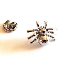 Metal Spider, Insect Novelty Pin Badge, Tie Pin / Lapel Pin Badge (X2AJTP218)
