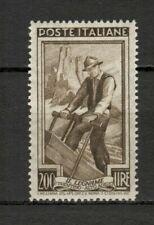 s33659 ITALIA  MNH** 1950 Italia al lavoro L:200 ruota  1v