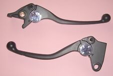 T03BLK Black brake & Adj Clutch lever set Triumph Speed Triple        2004-07