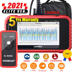 LAUNCH X431 CRP129E OBD2 Scanner Engine ABS SRS AT TPMS SAS EPB Diagnostic Tool