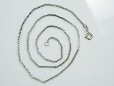 Wunderbare 835 Silber Kette Venezianerkette Unisex Damen Herren Vintage Eckig