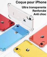 COQUE POUR IPHONE 6 - 5S 7 8 XS MAX XR X PROTECTION RENFORCÉE SOUPLE CASE BUMPER