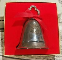 Beautiful Kirk Stieff Silver Plated Musical Bell IOB Not Sure of the Tune