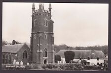 Postcard Sowton near Exeter Devon the Church and cottages RP by Jerome Dessain