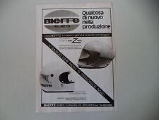 advertising Pubblicità 1976 CASCO BIEFFE HELMETS INTEGRALE X 2001/4001