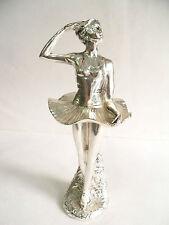 Statua Scultura Ballerina  Argento 800  idea regalo Statue Sculpture