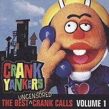 CRANK YANKERS Best Uncensored Crank Calls Vol 1 CD, 2002, VG, Comedy Central
