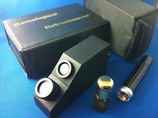 Gemstone gemological GEM Refractometer + case, oil NEW