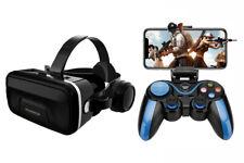BT Remoto Juego Controlador & Realidad Virtual Auriculares,3D VR Gafas Bi