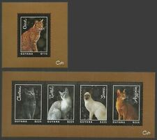 Cats Guyanese Stamps