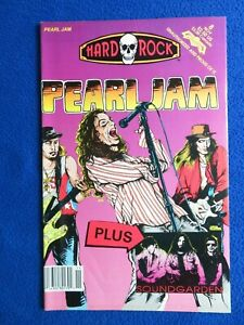 PEARL JAM + SOUNDGARDEN   1992   HARD ROCK COMICS #8