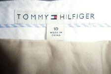 NWT Tommy Hilfiger ladies pants trousers British Tan size 10 $149 new with tags