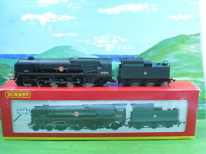 Hornby R2204 Merchant Navy class loco Bibby Line 35020 - excellent boxed