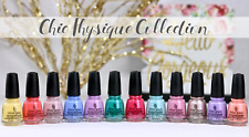 China Glaze Nail Lacquer CHIC PHYSIQUE Spring 2018 Full Collection 2018