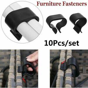 Outdoor Chair Couch Clamps Wicker Sofa Connection Clips Furniture Fasteners