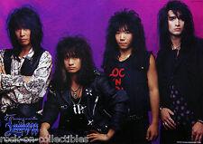 Loudness 1991 On The Prowl Japan Promo Poster Akira Takasaki Heavy Metal Rare