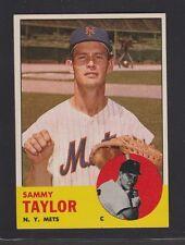 1963  TOPPS  BASEBALL # 273  SAMMY  TAYLOR  NM+/NM-MT  CONDITION  INV 995