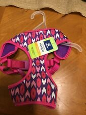 Top Paw Comfort Harness for Dogs. Size Medium Pink Tribal Pattern