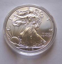 2018 American Eagle Silver Dollar - Air-Tite Capsule