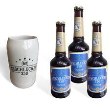 Arschlecken 350 Bierkrug 0,5l & 3 Flaschen Bier Arschlecken 350 Helles 0,33l