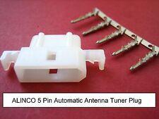 Alinco 5-pin Enchufe Molex Tipo Sintonizador automático de antena UAT EDX-2