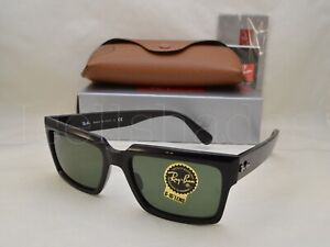 Ray Ban INVERNESS (RB2191-901/31 54) Black with Green Lens