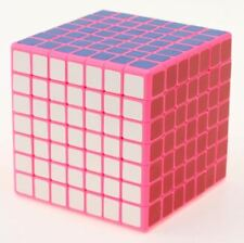 Sheng Shou Magic Cube 7x7x7 Speed Cube Rubik Magic Puzzle Game Toy ABS Pink