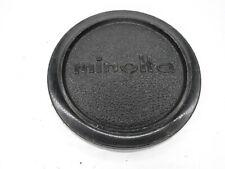 Minolta 57mm Push On Plastic Front Camera Lens Cap For 55mm Filter Ring