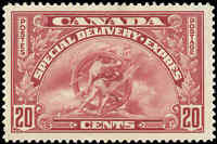 Canada Mint H 1935 F+ Scott #E6 20c Special Delivery Stamp