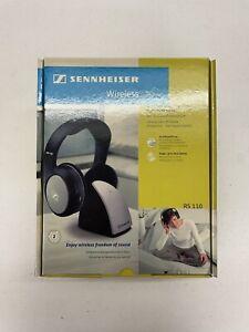 Sennheiser RS 110 Headband Wireless Headphones - Black