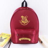 Harry Potter Hogwarts Magic Backpack Student Laptop School Bag Travel Rucksack