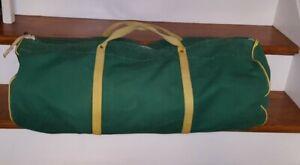 Vintage RATSEY & LAPTHORN SAILMAKERS Duffle Bag Green
