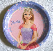 Barbie Prom Royal Birthday Party Paper Plates Hallmark 8 3/4 inch Pack of 8  sc 1 st  Ebay SG & Birthday Child Fairy Tales Party Plates | eBay