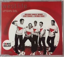 WESTLIFE –UPTOWN GIRL- CD SINGLE DIG 2001 MEXICAN PROMO VERY RARE POP