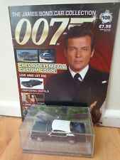 1/43 JAMES BOND 007 CAR COLLECTION - CHEVROLET IMPALA CUSTOM COUPE #109
