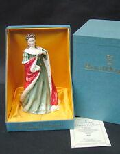 More details for royal doulton queens of the realm queen anne hn3141 23cm original box & cert vgc