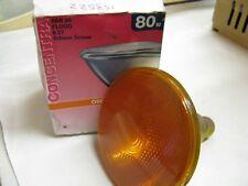 1 x New OSRAM CONCENTRA PAR 38 80W 30 deg 240V E27 ES AMBER Spot Light Lamp Bulb