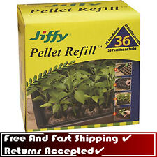 New listing Jiffy 36mm Plant Pellet Refill 36pcs professional Grade Canadian Sphagnum Peat