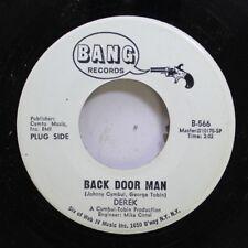 Rock Nm! 45 Derek - Back Door Man / Back Door Man On Bang Records